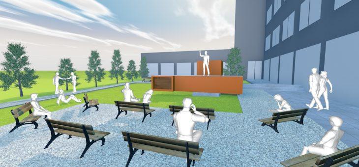 Sukurti parkelio 3D brėžiniai